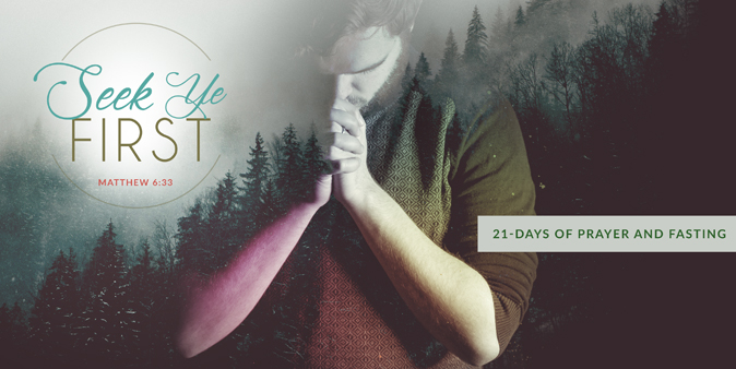 21-Days of Prayer and Fasting